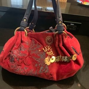 JUICY COUTURE Velour Handbag Gently Used